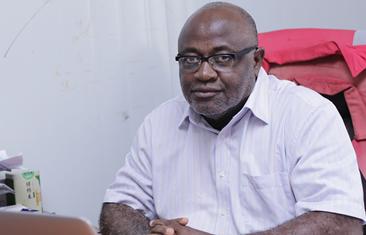 Robert Asmah quality manager Ghana Gas